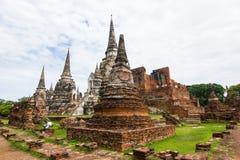 Wat Phra Si Sanphet, Ayutthaya Thailand Stockfotografie