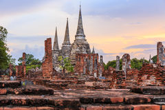Wat Phra Si Sanphet Royalty Free Stock Photography