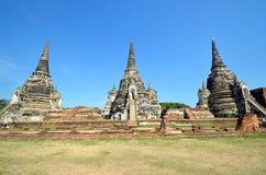 Wat Phra Si Sanphet Royalty Free Stock Photos