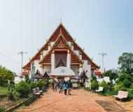 Wat Phra Si Sanphet in Ayutthaya, Thailand stock photos