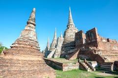 Wat Phra Si Sanphet, Ayutthaya, Thailand Royalty Free Stock Images