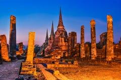Wat Phra Si Sanphet, Ayutthaya, Thailand Stock Image