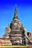Wat Phra Si Sanphet en buddistisk tempel i Ayutthaya, Thailand Arkivbilder