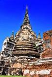 Wat Phra Si Sanphet en buddistisk tempel i Ayutthaya, Thailand Fotografering för Bildbyråer