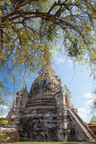 Wat Phra Si Sanphet ruins,. Ayutthaya, Thailand Stock Photos