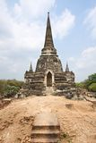 Wat Phra Si Sanphet temple - Ayutthaya, Thailand Royalty Free Stock Photography