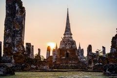 Wat Phra Si Sanphet, Thailand Royalty Free Stock Photo