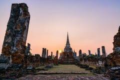 Wat Phra Si Sanphet, Thailand Stock Photography