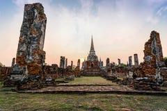 Wat Phra Si Sanphet, Thailand Stock Images