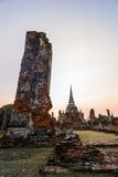 Wat Phra Si Sanphet, Thailand Royalty Free Stock Photos