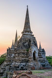 Wat Phra Si Sanphet, Thailand Royalty Free Stock Photo