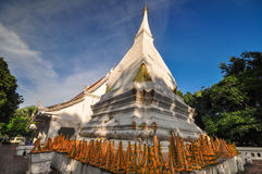 Wat Phra That Si Song Rak Loei Royalty Free Stock Photo