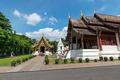 Wat Phra Sing, Chiang Mai Lizenzfreie Stockfotografie