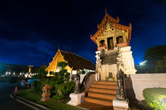 Wat Phra Sing, Chiang Mai Lizenzfreies Stockfoto