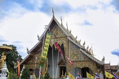 Wat Phra Sing royalty free stock photo