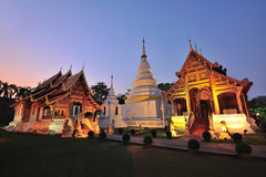 Wat phra sing in Chiang mai Stock Images
