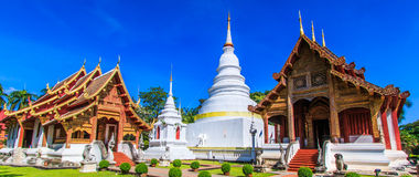Wat Phra Sing Royalty Free Stock Photos