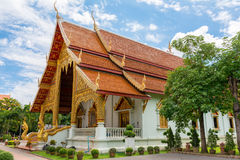 Wat Phra Sing. In Chiang Mai Province ,Thailand royalty free stock photo