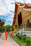 Wat Phra Sing. In Chiang Mai Province ,Thailand Royalty Free Stock Photography
