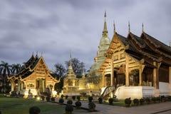 Wat Phra Sing, Chiang Mai, Tailândia Imagem de Stock Royalty Free