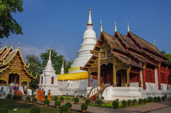 Wat Phra Sing temple Chiang Mai Province Asia Thailand Stock Photography