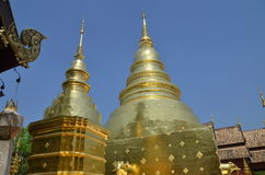 Wat Phra Sing temple Chiang Mai Thailand Royalty Free Stock Images
