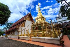Wat Phra Sing temple in Chiang Rai, Thailand Stock Photos