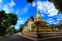 Wat Phra Sing temple in Chiang Rai, Thailand Royalty Free Stock Images