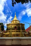 Wat Phra Sing temple in Chiang Rai, Thailand Royalty Free Stock Image