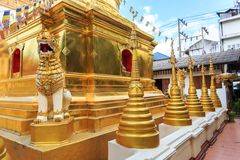Wat Phra Sing temple in Chiang Rai, Thailand Stock Photography