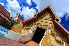 Wat Phra Sing temple in Chiang Rai, Thailand Stock Photo