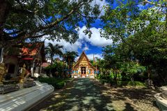 Wat Phra Sing temple in Chiang Rai, Thailand Royalty Free Stock Photo
