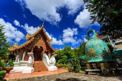 Wat Phra Sing temple in Chiang Rai, Thailand Stock Image