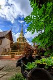 Wat Phra Sing temple in Chiang Rai, Thailand Stock Images