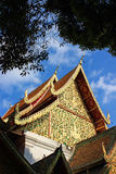 Wat Phra Singh é um templo budista em Chiang Mai Foto de Stock