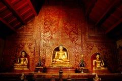 Wat Phra Singh, Чиангмай, Таиланд Стоковая Фотография
