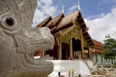 Wat Phra Singh Stock Images