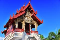 Wat Phra Singh, Buddyjska świątynia w Chiang Mai, Tajlandia Obrazy Royalty Free