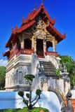Wat Phra Singh, Buddyjska świątynia w Chiang Mai, Tajlandia Zdjęcia Stock