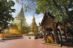 Wat Phra Singh, Chiang Mai, Northern Thailand. Royalty Free Stock Photos