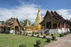 Wat Phra Singh, Chiang Mai, Northern Thailand. Stock Photo