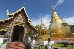 Wat Phra Singh, Chiang Mai, Northern Thailand. Stock Images