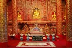 Wat Phra Singh, Chiang Mai, Tailândia Imagens de Stock Royalty Free