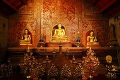 Wat Phra Singh, Chiang Mai, Tailandia Imagenes de archivo