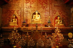 Wat Phra Singh, Chiang mai, Tajlandia Obrazy Stock