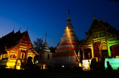 Wat Phra Singh, Chiang Mai, Thailand. Stock Photo