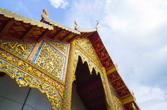 Wat Phra Singh. Chiang Mai, Thailand Royalty Free Stock Photography