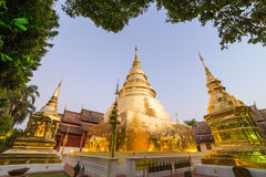 Wat Phra Singh in Chiang Mai Royalty Free Stock Photo