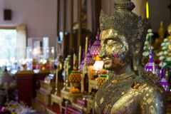 Wat Phra Singh in Chiang Mai Royalty Free Stock Photography
