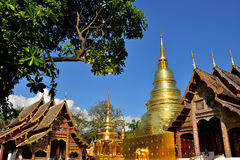 Wat Phra Singh in Chiang Mai Royalty Free Stock Images